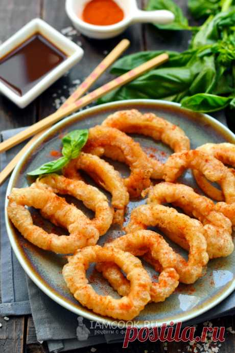 Кальмары в кляре по-китайски — рецепт с фото пошагово. Как приготовить кальмаров в кляре кольцами по-китайски?