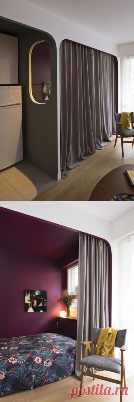 Квартира площадью 36 м2 в Париже