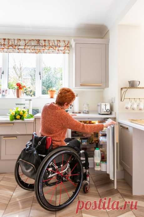 Проект недели: Кухня быстрого доступа для хозяйки в коляске Трагедия — не повод отчаиваться