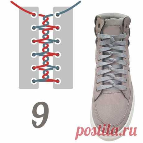 Шнуровка кроссовка (2Diy)