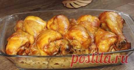 Курица по американскому рецепту