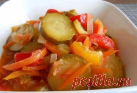 Поиск на Постиле: салаты с кабачками на зиму