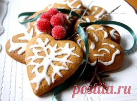 Pepperkaker -норвежские Рождественские имбирные печенюшки рецепт с фотографиями