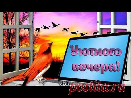 Желаю уютного, позитивного вечера! Музыка для души Сергея Чекалина - YouTube