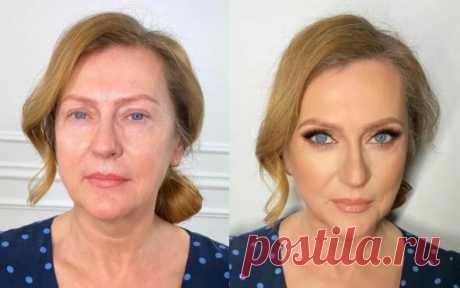 Как правильно делать лифтинг-макияж после 50, чтобы выглядеть на 10 лет моложе