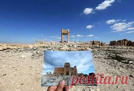 Что стало с многовековыми памятниками Пальмиры после ИГИЛа: