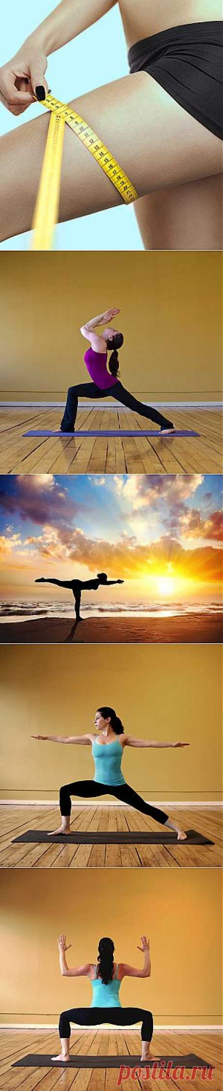Эффективная сушка бёдер - йога | Ladies venue