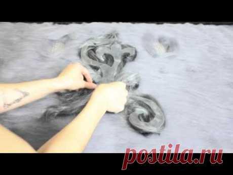 Работа с блокираторами. Видео.   Надежда Элпис. Обучение валянию из шерсти и готовые изделия