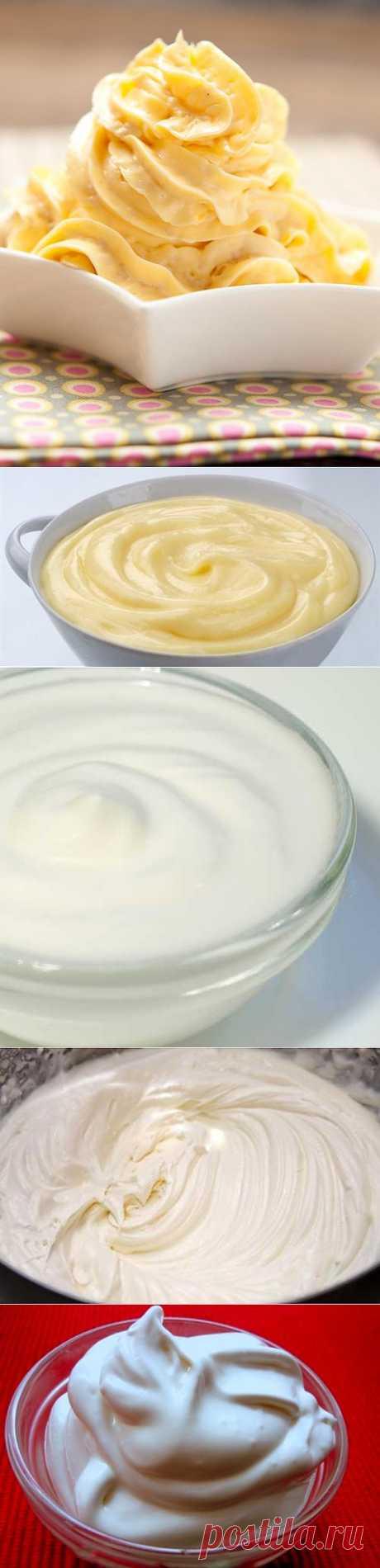 Рецепт крема для торта — варианты приготовления | My Milady