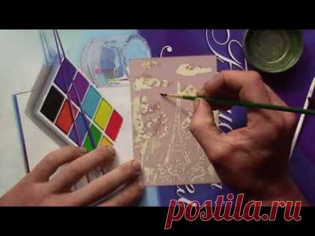 Как с помощью фотопринадлежностей ПИСАТЬ КАРТИНЫ. Техника рисования.