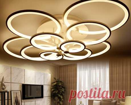 Выбираем потолочный светильник - строительство, ремонт, дизайн, интерьер
