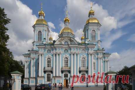 Никольский собор. Санкт-Петербург
