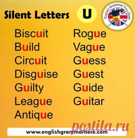 Silent U