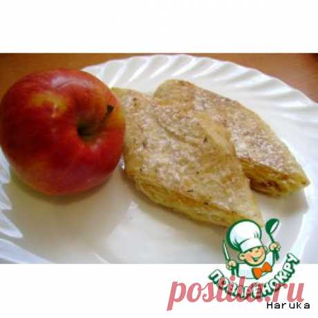 Сладкий рулет из лаваша с яблоками - кулинарный рецепт