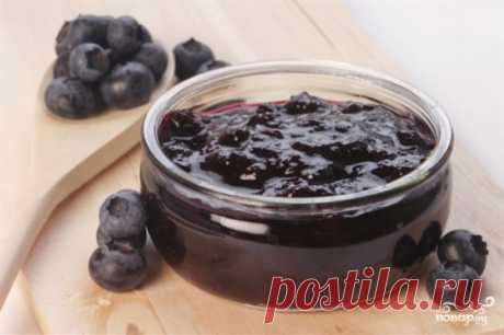 Варенье из черники пятиминутка - рецепт с фото на Повар.ру