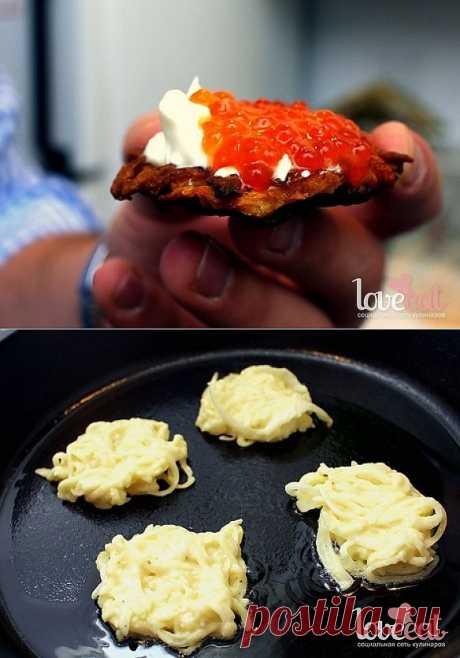 Картофельные латкес - Loveeat - социальная сеть кулинаров