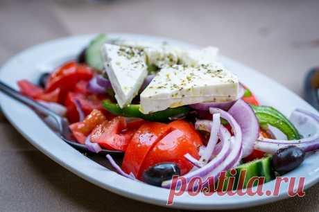 Греческий салат – 5 классических пошаговых рецептов