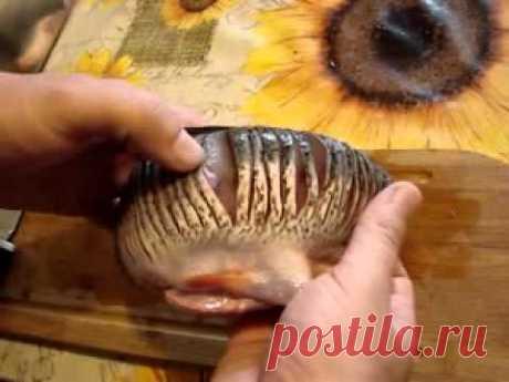 Как жарить рыбу без костей