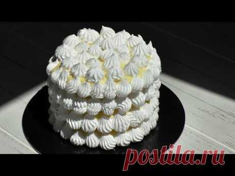 """Как приготовить торт из безе """"Успешный кондитер""""."""