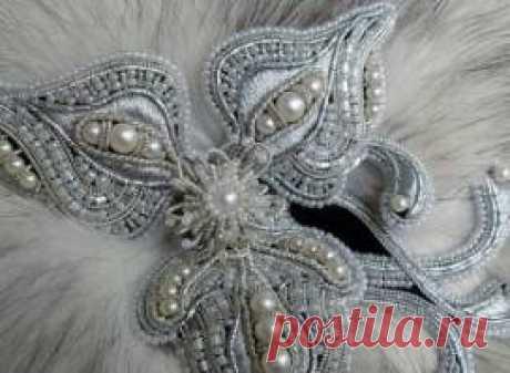 Вышивка бисером -- просто и легко Вышивка— широко распространенный вид декоративно-прикладного искусства.   Нашивание на ткань жемчужин, бусин, бисерин называлось в старину саженьем. Часто в вышивке бисер и бусины сочетаются с другими…