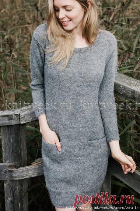 Стильное и простое платье с описанием | Хозяйка своего дома | Яндекс Дзен