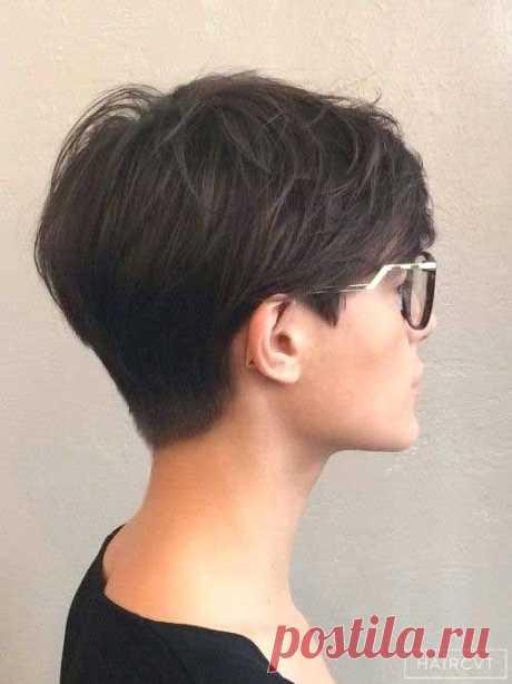 Уникальные короткие прически для женщин с короткими прическами для тонких волос спереди и сзади Просмотр новых коротких причесок - Прическа и татуировка Вдохновение для вас - oaksclan.com
