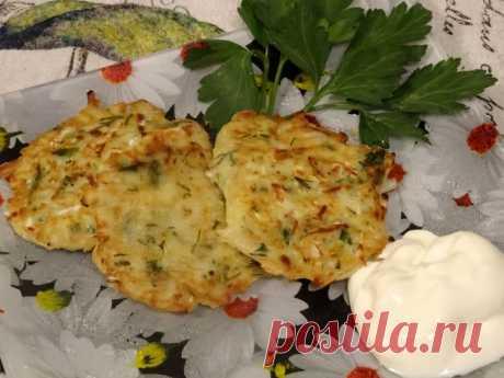 Капустные оладушки - съедаются моментально - Простые рецепты Овкусе.ру