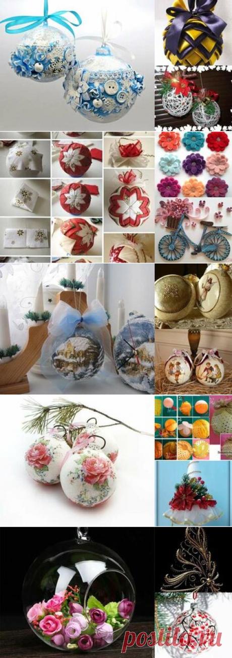 19 карточек в коллекции «Новогодние шары и игрушки для вдохновения » пользователя Юлия Миронова в Яндекс.Коллекциях