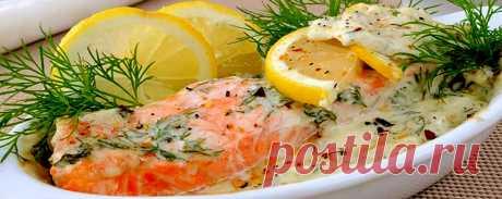 Красная рыба в сливочном соусе • Пошаговый рецепт Красная рыба в сливочном соусе — пошаговый рецепт приготовления с подробным описанием. Как приготовить дома и сделать вкусно и просто