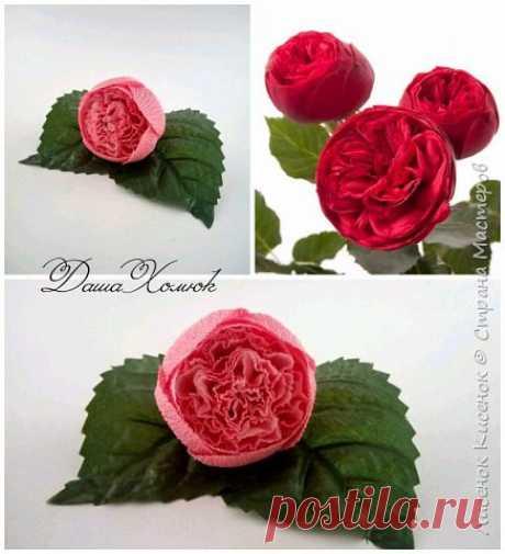 Мастер класс- как сделать розу.