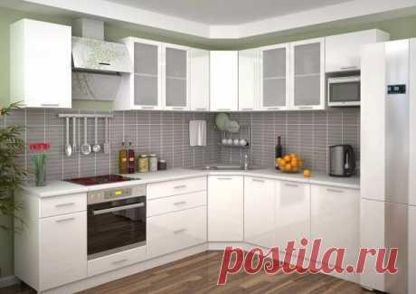 Какой цвет для кухонного гарнитура является самым практичным