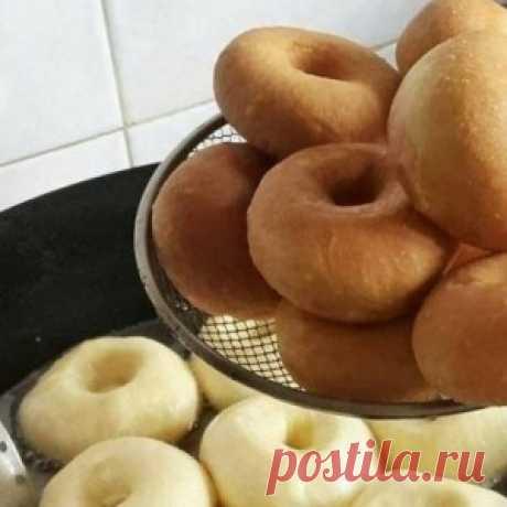 Обалденные пончики с начинкой или без. Тают во рту