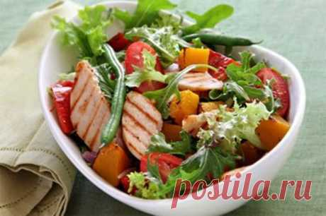 Dietary salads for weight loss