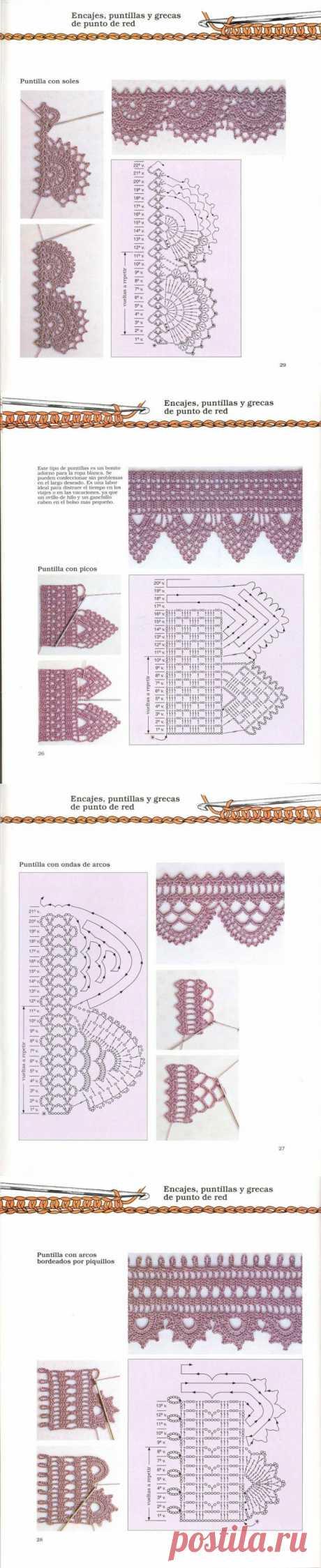 vyazan.kayma, schemes of knitting by a hook - mad1959 — я.ру