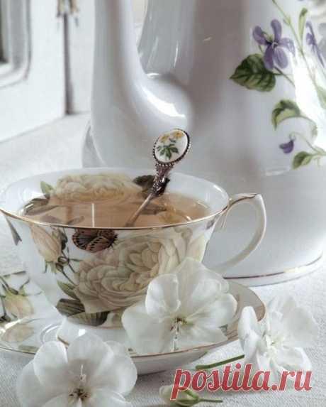 Всем чаю с двумя ложками хорошего настроения!☺