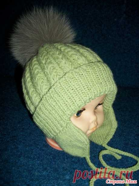 Cap for the boy (spoke) - Knitting - the Country of Mothers