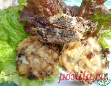 Мясные тарталетки с баклажаном – кулинарный рецепт
