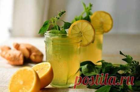 Напиток здоровья - имбирный лимонад! — Мегаздоров