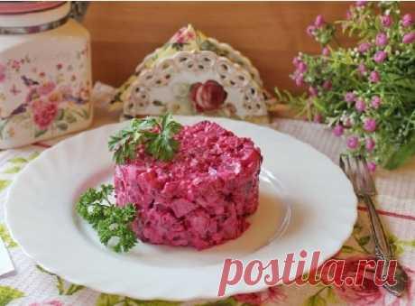 Салат с селедкой и свеклой – рецепт с фото (финский, эстонский)