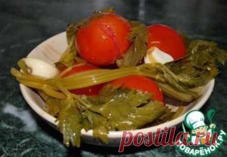 Квашеные помидоры за 3 дня - кулинарный рецепт