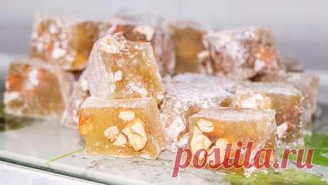 Восточные сладости – рахат-лукум в домашних условиях – пошаговый рецепт с фотографиями