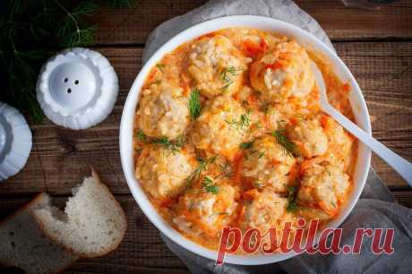 Ежики из фарша с рисом в мультиварке рецепт с фото пошагово - 1000.menu