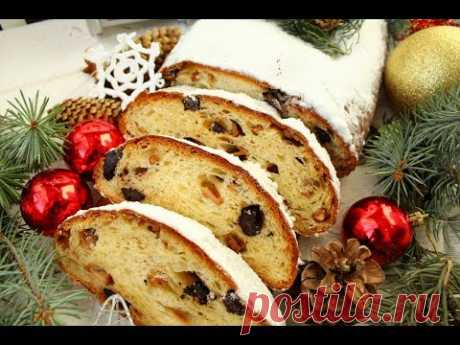 Рождественский штоллен с шоколадом ❆ Точно получится у всех! ❆ 100% результат ❆ Stollen