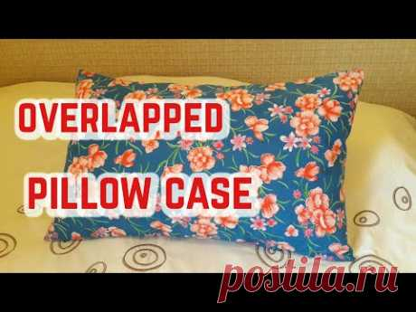 How to Sew an Overlapped Pillow Case