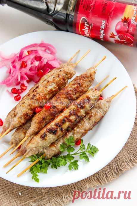 Люля-кебаб из курицы и свинины | Волшебная Eда.ру