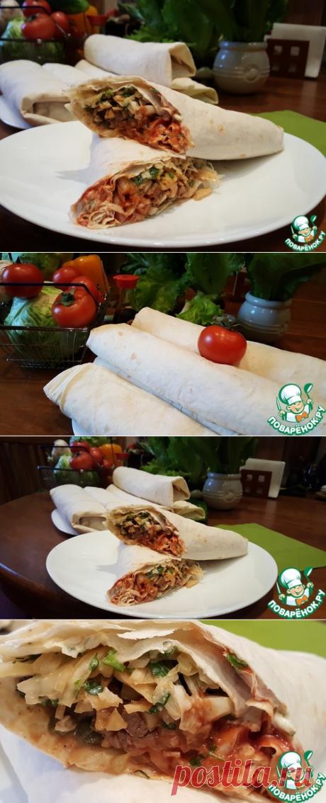 Домашняя шаурма – кулинарный рецепт