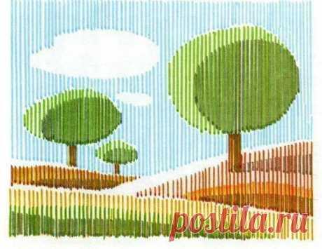 Арт-рисунки линиями: идеи для детского творчества Арт-рисунки линиями: идеи для детского творчестваАрт-рисунки линиями помогают в выработке точности глазомера и в работе с параллельностью линий.