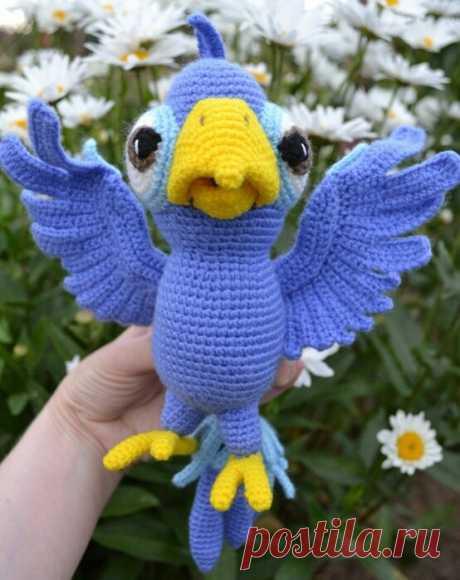 Попугай Чили Автор: Ildikko