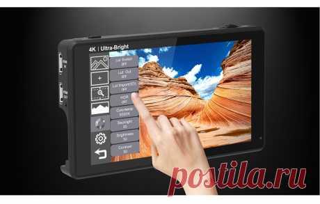 FEELWORLD LUT6 6 дюймов 2600nits HDR 3D LUT Сенсорный экран на Поле Камеры DSLR Монитор с Формой волны VectorScope для Youtube Live|Монитор| - AliExpress