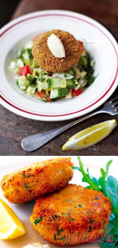 Как приготовить рыбные котлеты   Домашняя кулинария